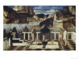Sacred Allegory Giclee Print by Giovanni Bellini