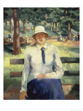 Unemployed Girl Giclee Print by Kasimir Malevich