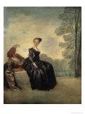 Launisches Madchen Giclee Print by Jean Antoine Watteau