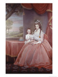 Mrs. Elijah Boardman and Her Son Giclee Print by Ralph E.w. Earl