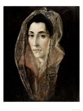 Portrait of a Lady Giclee Print by  El Greco