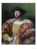 Portrait of Lorenzo De&#39;Medici Reproduction proc&#233;d&#233; gicl&#233;e par Raphael 