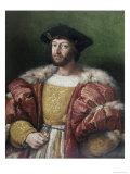 Portrait of Lorenzo De'Medici Impression giclée par  Raphael