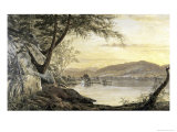 Sunset on the Lake Giclee Print by H.W. Robbins