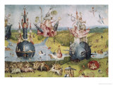 Detail of Garden of Earthly Delights, no.3, c.1505 Giclee Print by Hieronymus Bosch