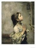 Girl Giclee Print by Roberto Ferruzzi