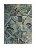Samovar Giclée-tryk af Kasimir Malevich