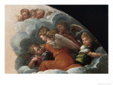 The Annunciation Giclee Print by Benvenuto Tisi Da Garofalo