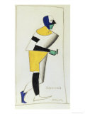 The Sportsman Giclee Print by Kasimir Malevich