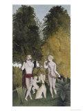 L'Heureux Quatuor Giclee Print by Henri Rousseau
