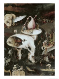 Detail of Garden of Earthly Delights, no.8, c.1505 Giclee Print by Hieronymus Bosch
