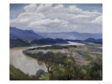 Tennessee River Valley Giclee Print by Charles Mclaughlin