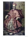 Cardinal Nino de Guevara Giclee Print by  El Greco