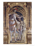 Madonna and Child From the Polyptych of Saint Martin Giclee Print by Bernadino Zenale