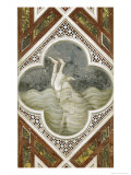Jonah and the Whale Giclee Print by  Giotto di Bondone