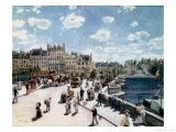 The Pont Neuf, Paris Reproduction proc&#233;d&#233; gicl&#233;e par Pierre-Auguste Renoir