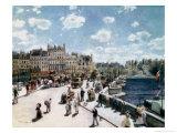 The Pont Neuf, Paris Giclée-tryk af Pierre-Auguste Renoir