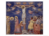 The Crucifixion Gicl&#233;e-Druck von Giotto di Bondone 