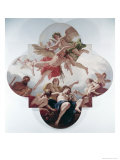 The Taming of Cupid Giclee Print by Sebastiano Ricci