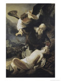 The Sacrifice of Isaac Giclee Print by  Rembrandt van Rijn
