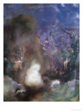 Roger and Angelica Giclee Print by Odilon Redon
