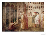 Healing of the Cripple Giclée-tryk af Masaccio