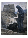 The Compassion, c.1887 Giclee Print by Pierre Puvis de Chavannes