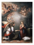 Annunciation Premium Giclee Print by Bartolome Esteban Murillo