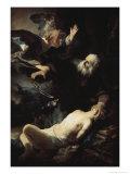 Abraham's Sacrifice Giclee Print by  Rembrandt van Rijn