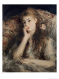 Thoughtful, La Pensee Giclee Print by Pierre-Auguste Renoir