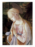 Detail of Madonna and Child with Angels Giclee Print by Filippino Lippi