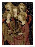Angel Musicians Giclee Print by Sefano Da Verona