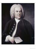 Johann Sebastian Bach Giclee Print by Elias Gottlob Haussman