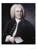 Johann Sebastian Bach Giclee Print by Elias Gottlob Haussman
