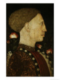 Portrait of Lionello D'Este, c.1441 Giclee Print by Antonio Pisani Pisanello