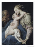 The Holy Family Premium Giclee Print by Girolamo Di Giovanni Da Camerino