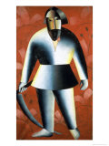 The Mower Giclee Print by Kasimir Malevich