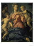 The Holy Family Giclee Print by Agnolo Bronzino