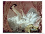 La Giambette Giclee Print by Jean-Honor&#233; Fragonard