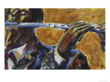 Flute Giclee Print by Gil Mayers