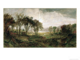 Hastings on Hudson Reproduction procédé giclée par Jasper Francis Cropsey