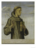 Saint Anthony Giclée-Druck von Alvise Vivarini