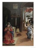 Annunciation Premium Giclee Print by Lorenzo Lotto