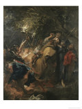 Betrayal of Christ Giclée-Druck von Sir Anthony Van Dyck