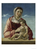 Madonna and Child Giclee Print by Giovanni Bellini