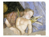 Detail of Camera Degli Sposi: Putti Giclee Print by Andrea Mantegna