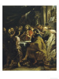 The Last Supper Giclee Print by Peter Paul Rubens