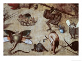 Detail of Temptation of St. Anthony, c.1490 Giclee Print by Hieronymus Bosch