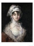 Antonia Zarate Giclee Print by Francisco de Goya