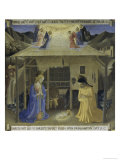 The Nativity, Story of the Life of Christ Giclee Print by  Fra Angelico